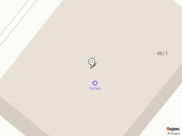Птица на карте Тобольска