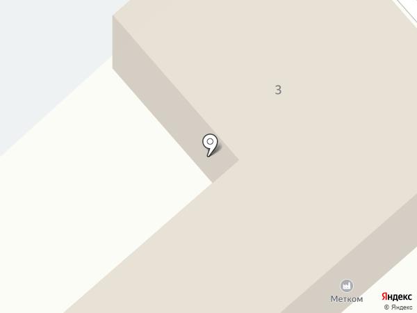 Тюменское областное дорожно-эксплуатационное предприятие на карте Тобольска