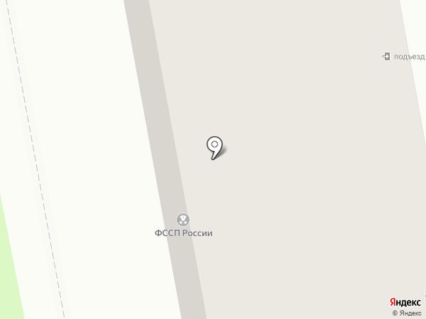 Межрайонный отдел судебных приставов на карте Тобольска