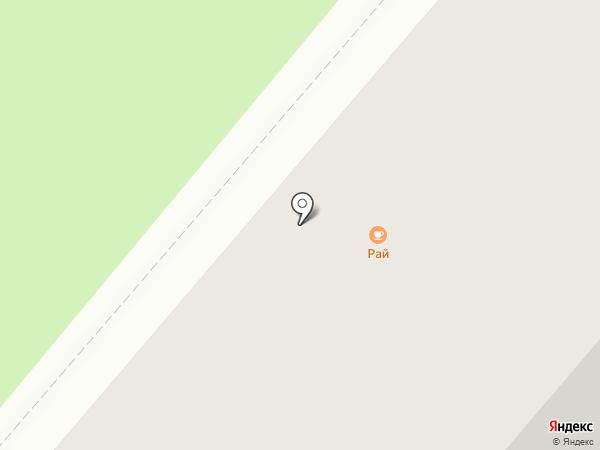 RАЙ на карте Тобольска
