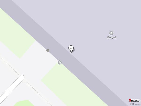 Лицей, МАОУ на карте Тобольска