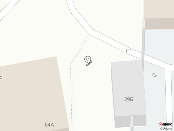 Автостоянка на карте Тобольска