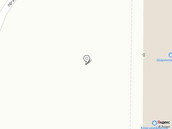 Киоск по продаже шаурмы на карте Тобольска