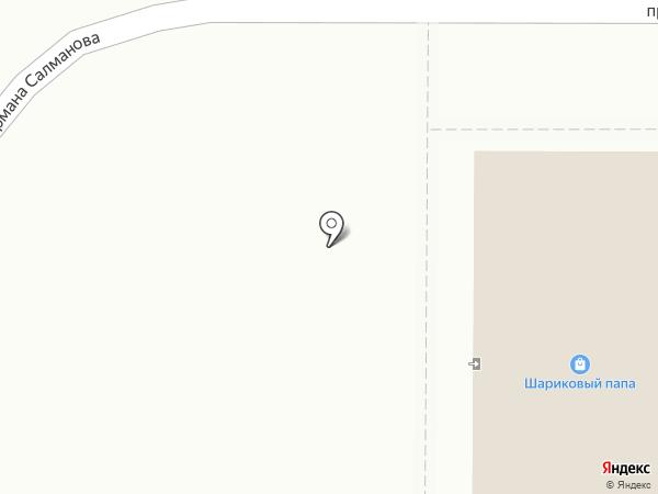 Сплав на карте Тобольска
