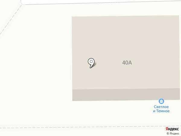 Анастасия на карте Тобольска