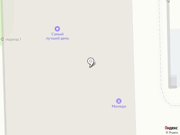Миледи на карте Тобольска