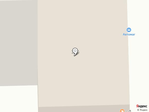 Хлебный дом на карте Тобольска