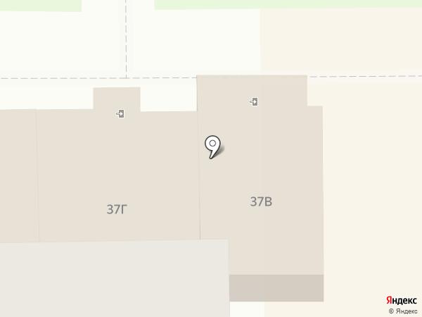 Магазин по продаже фастфудной продукции на карте Тобольска