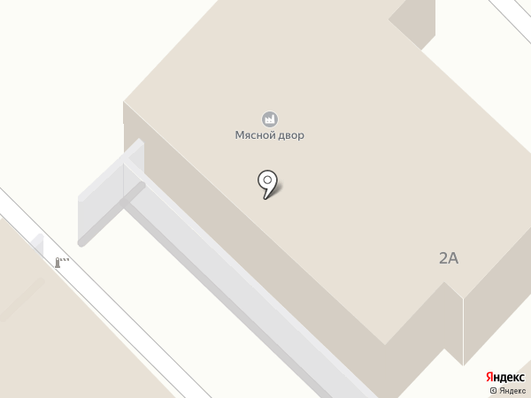 Мясной двор на карте Тобольска