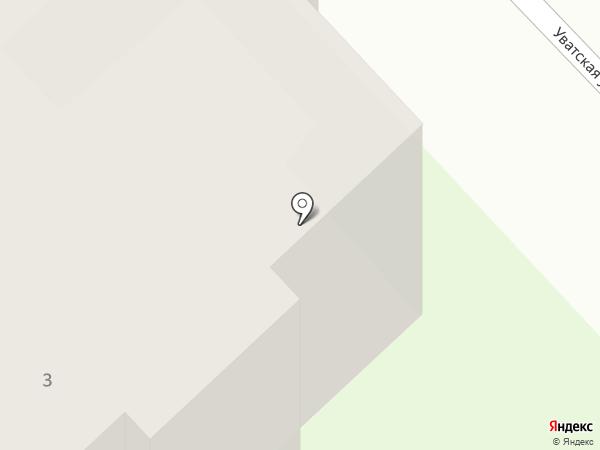 Сантел на карте Тобольска