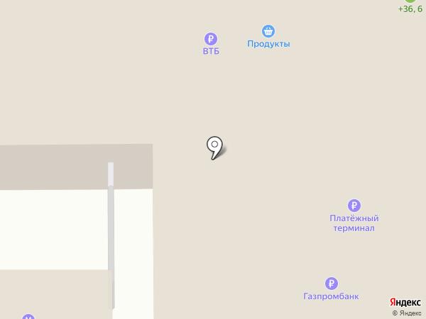 Союз трех на карте Тобольска