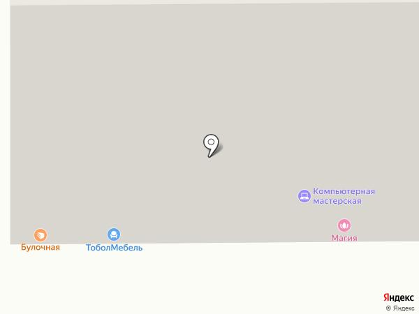 Профмонтаж на карте Тобольска