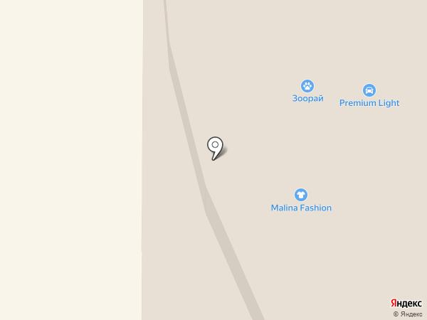 Glance на карте Тобольска