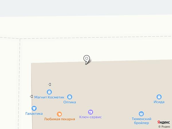 Оптика на карте Тобольска