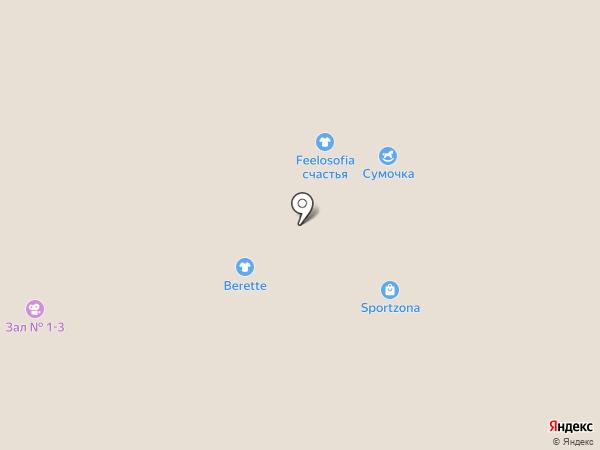 Clasna на карте Тобольска