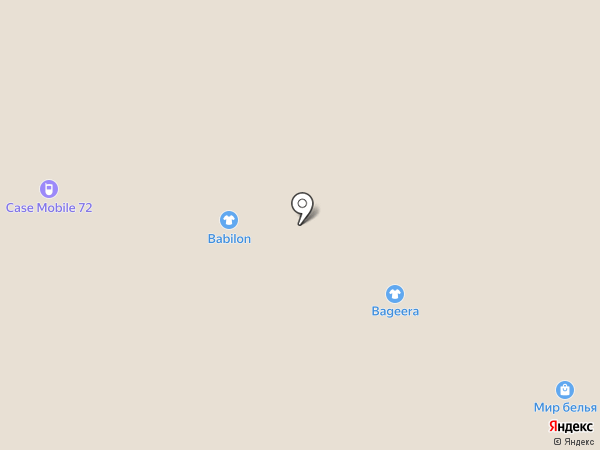 BAGEERA на карте Тобольска