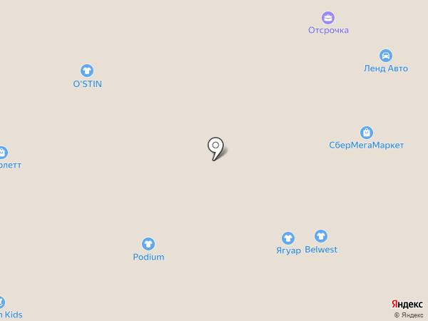 Prestige на карте Тобольска
