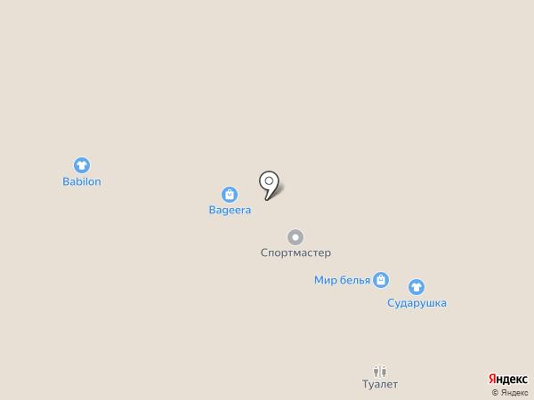 Milavitsa на карте Тобольска