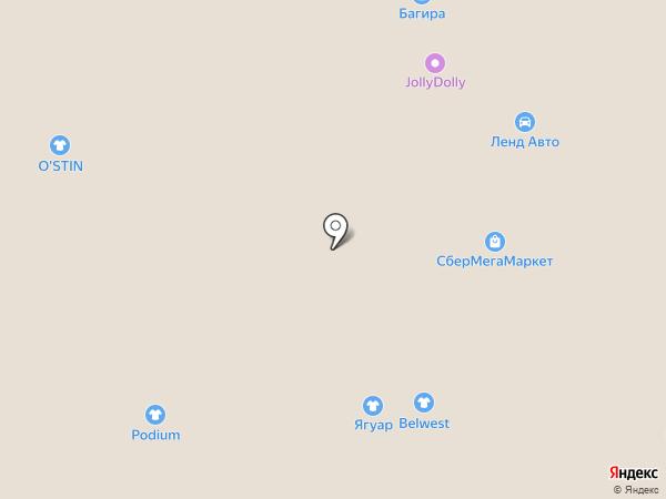 Belwest на карте Тобольска