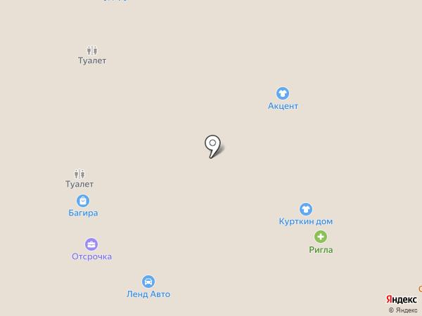 Ригла на карте Тобольска