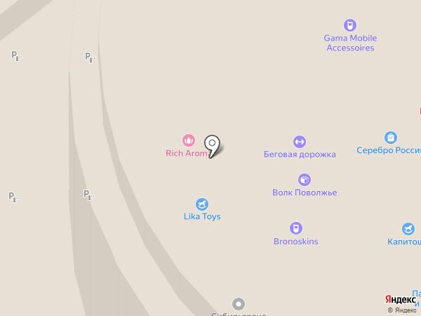 Презент на карте Тобольска