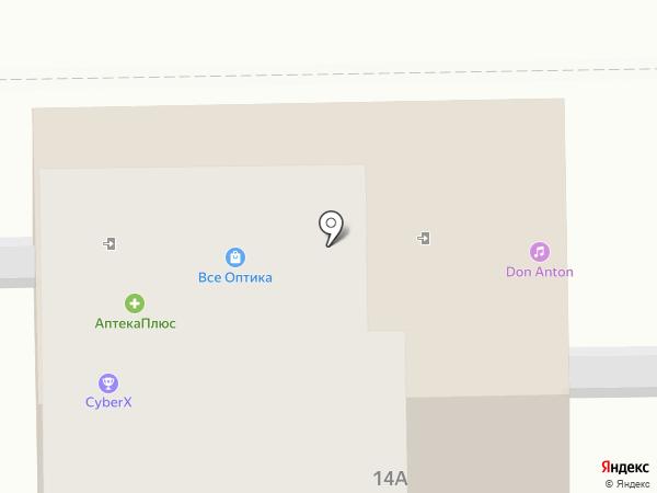 Логово на карте Тобольска