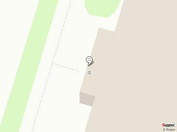 Тобольский почтамт на карте Тобольска