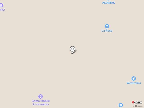 Вестфалика на карте Тобольска