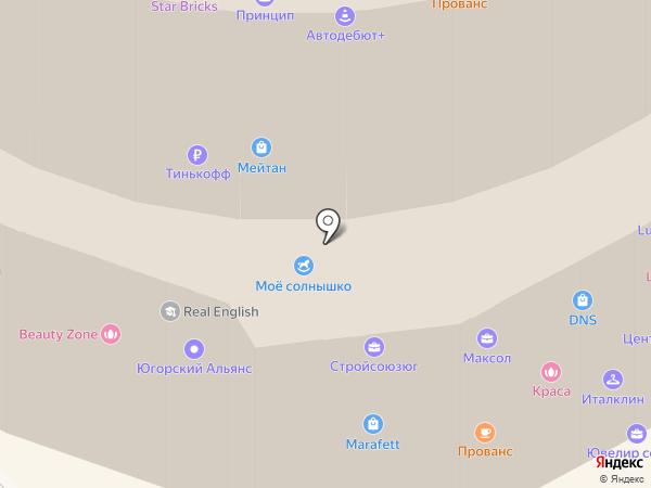 ДНС на карте Тобольска