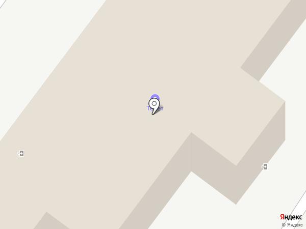 Управление механизированных работ-2 на карте Тобольска