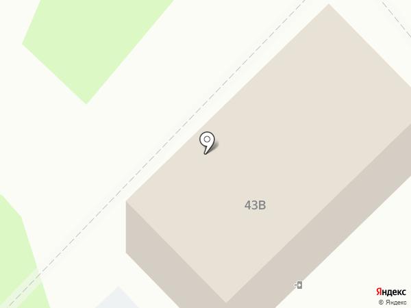 Каравелла на карте Тобольска