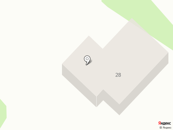 Каретный Двор на карте Тобольска