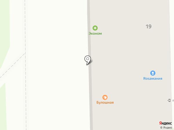 Аптека от склада на карте Тобольска