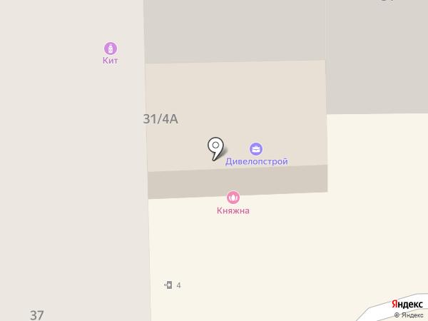 Клеопатра на карте Тобольска