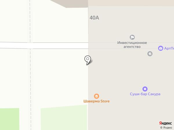 Сакура на карте Тобольска