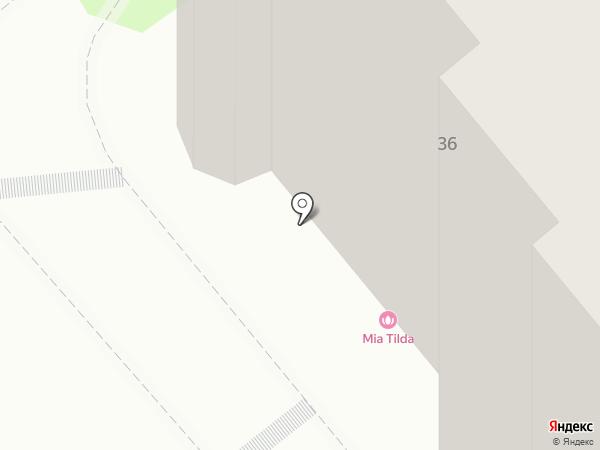Гранд на карте Тобольска