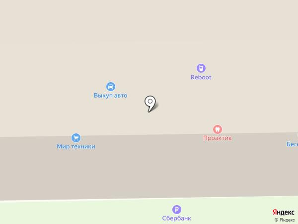 КрепыЖ на карте Тобольска