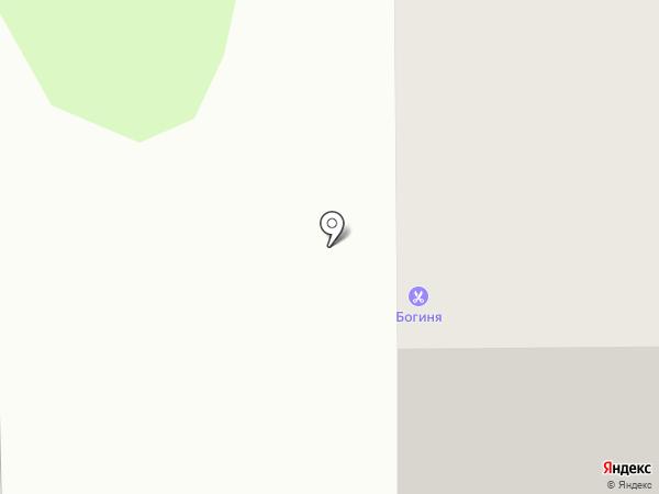 Богиня на карте Тобольска