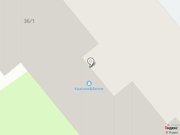 Диана на карте Тобольска