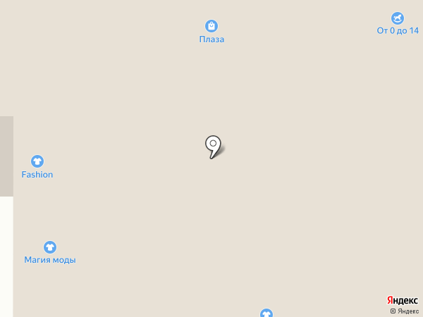 Халатик на карте Тобольска