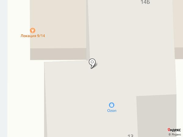 Торгово-сервисная компания на карте Тобольска