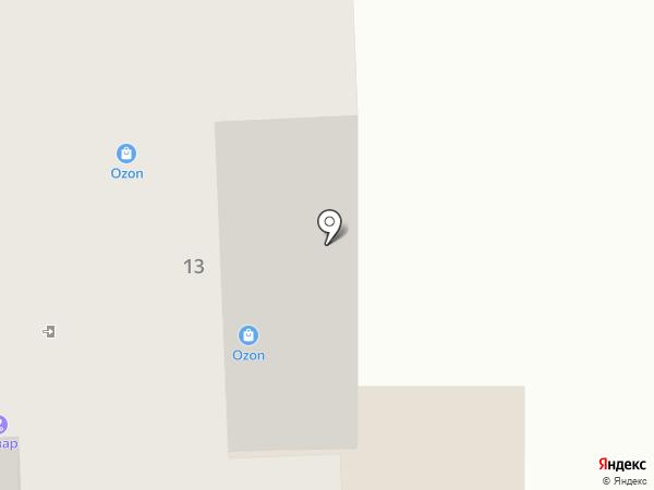 КанцПарк на карте Тобольска