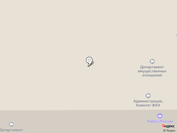 Аварийно-диспетчерская служба на карте Тобольска