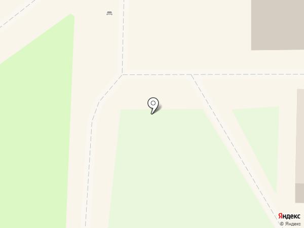 Киоск по продаже мороженного на карте Тобольска