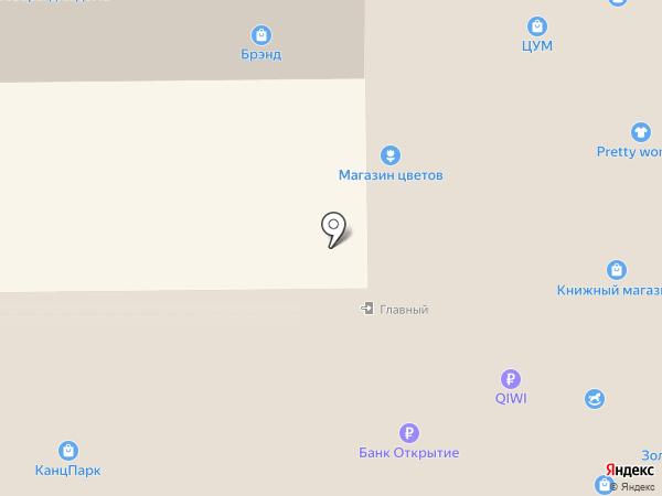 Кокетка на карте Тобольска
