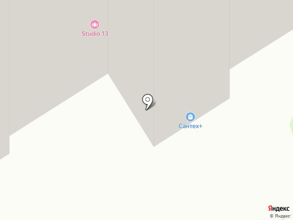 Сантех+ на карте Тобольска