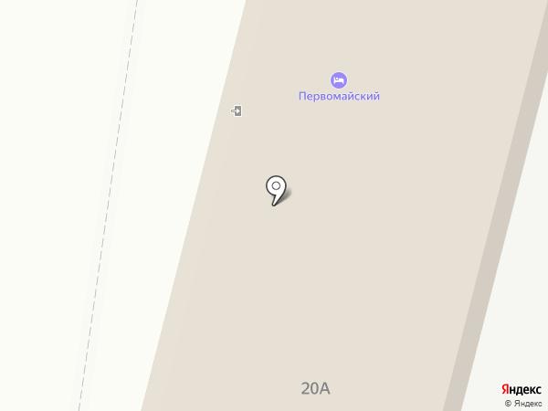 Артель-С на карте Тобольска