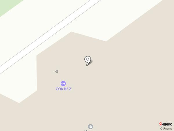 Эрбий на карте Тобольска