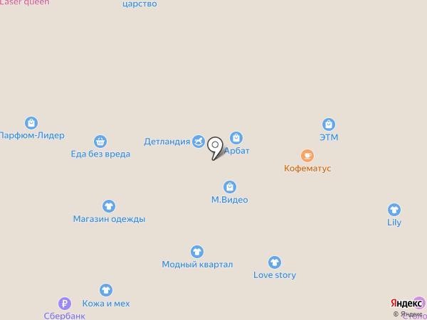 Котофеич на карте Тобольска