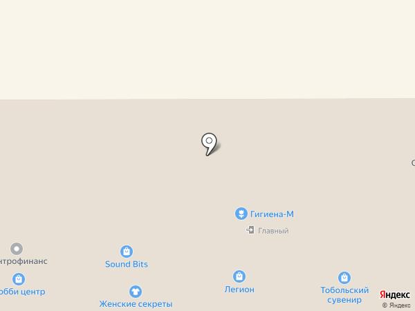 Безопасный Город на карте Тобольска